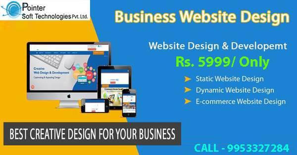 Responsive Website Design company in Delhi - computer