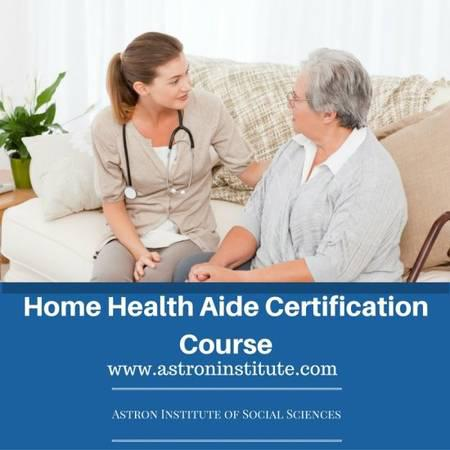 Certified Home Health Aid Training Institute - skilled trade