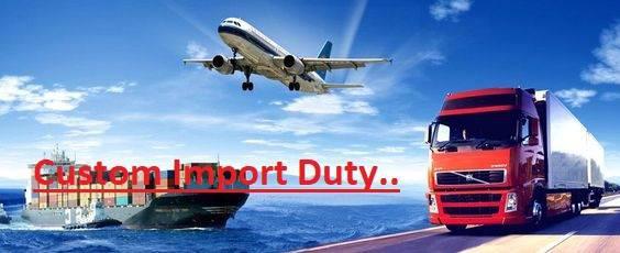 Custom Import Duty - marine services