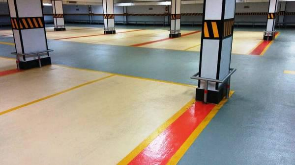 Epoxy anti slip paint for Sports floors and CArparking areas