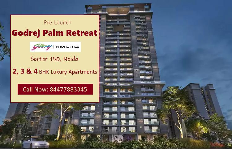 Godrej Palm Retreat Luxury Apartments in Sector 150 Noida