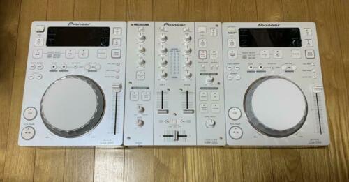 Pioneer cdj 350x2 pair djm350 dj mixer set