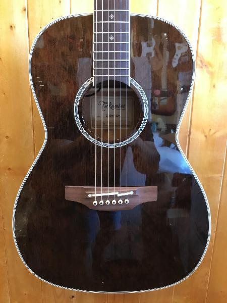 Takamine cp3ny ml gloss molasses new yorker acousticelectri