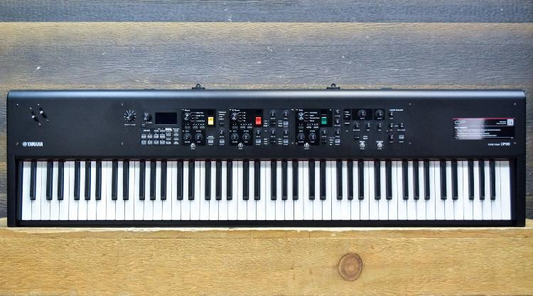 Yamaha CP88 Stage Piano Natural Wood Graded Hammer 88 key
