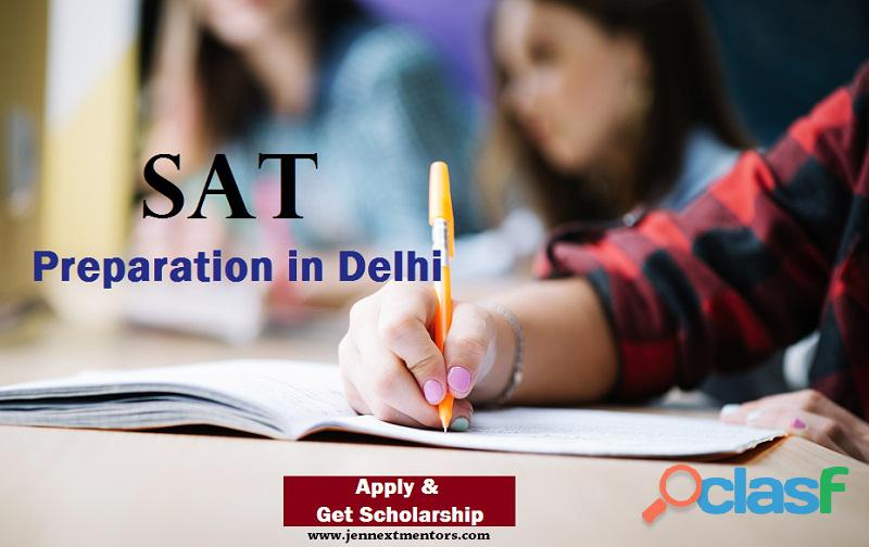 Attend SAT Preparation in Delhi with JenNext Mentors