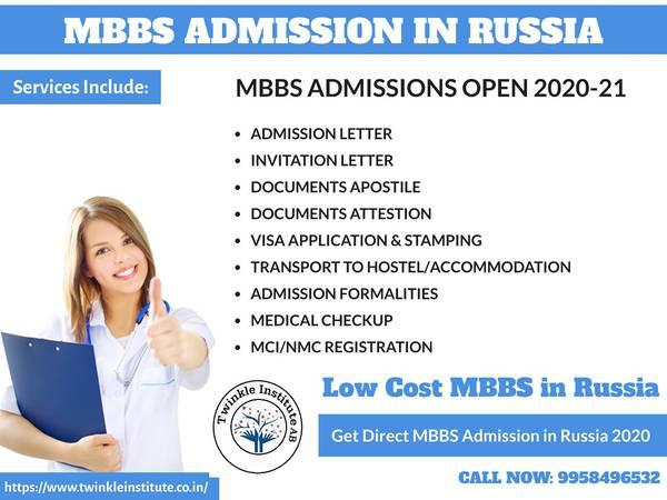 Low Cost MBBS in Russia: Get Direct MBBS Admission in Russia