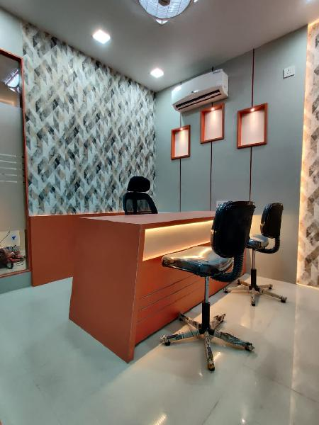 Fully furnished commercial office for rent in new town area