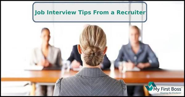 Job interview tips from a recruiter - computer services