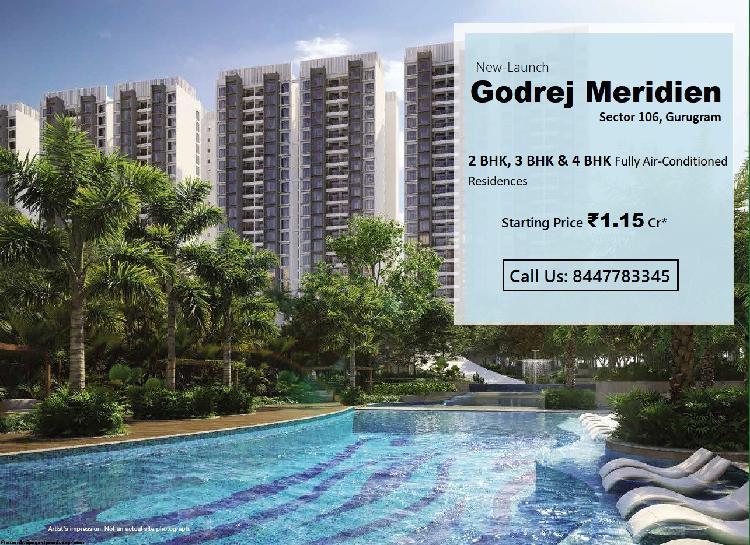 Godrej meridien in sector 106 dwarka expressway gurugram