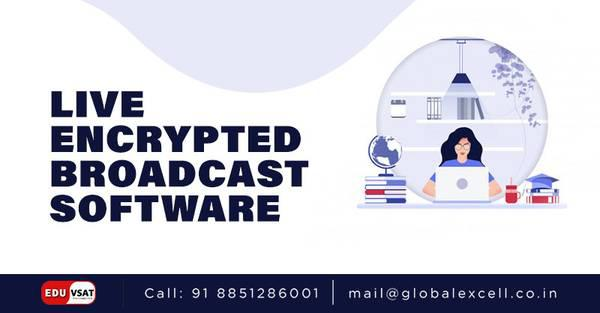Live Encrypted Broadcast Software at lowest price - computer
