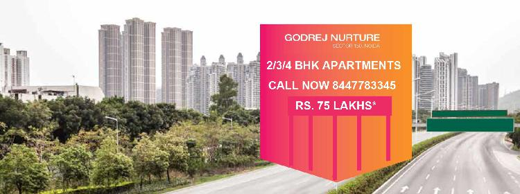 New Launch Project Godrej Nurture At Sector 150 Noida