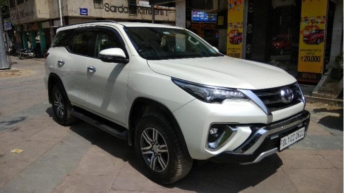 Toyota fortuner 28 4x2 at 2018 in good condition