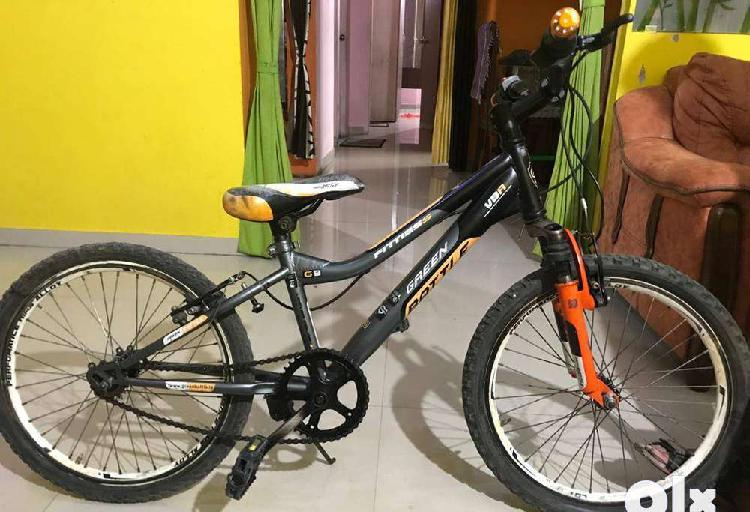 Green battle 15 inch cycle for sale