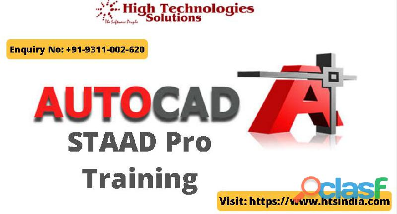 Best autocad staad pro training in delhi