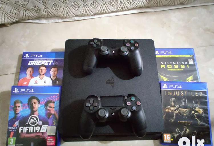 New ps-4 with warranty