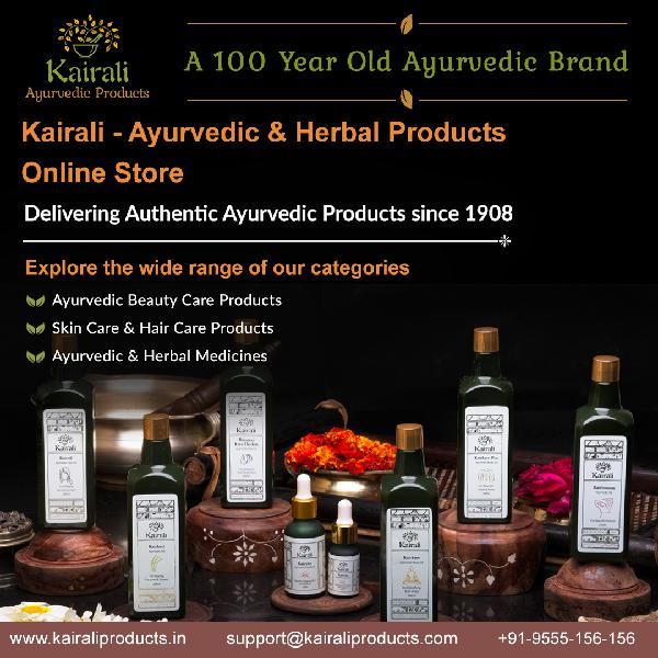 Kairali ayurvedic and herbal products online seller