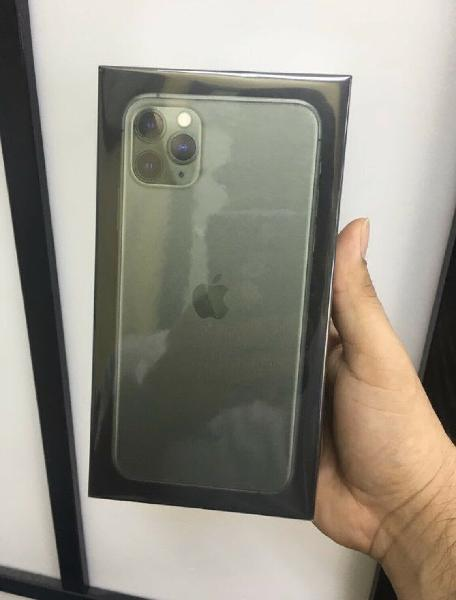 New apple iphone 11 pro max 256gb space gray factory u