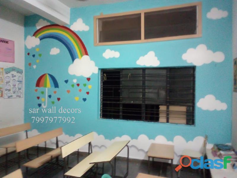Nursery School Art work images in Hyderabad