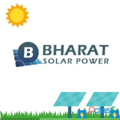 Solar panel Mounting Structures by Bharat Solar Power