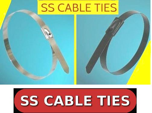 Rex Brand Pvc Coated SS Cable Ties in Noida
