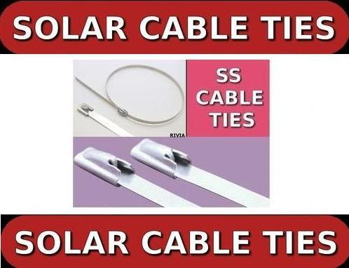 Rex Brand UV Resistant Cable Tie for Solar Power Plant