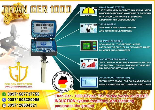 Titan GER 1000 GoldDetector