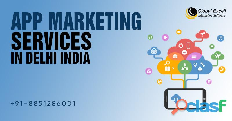 Global excell: top app marketing services in delhi india