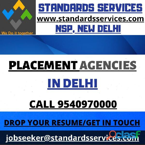 Standards Services   Placement Agencies in Delhi