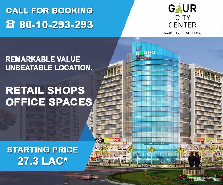 Gaur city center 8010293293 gaur city centre