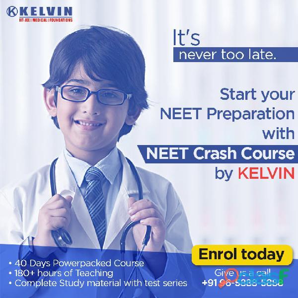 Neet crash course in delhi. prepare for neet 2020