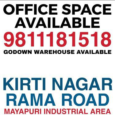 Office Space Available for Rent in Kirti Nagar Mayapuri