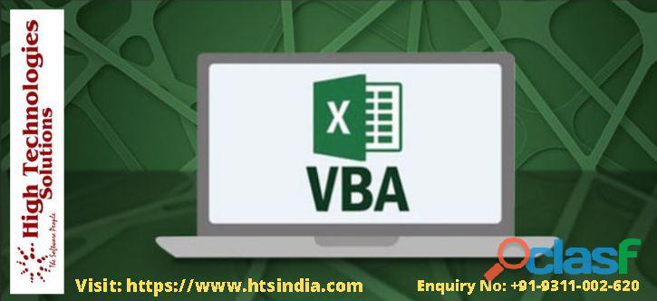 Best vba training in delhi