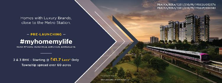 myhomemylife Flats for Sale on Mysore RoadNice Junction