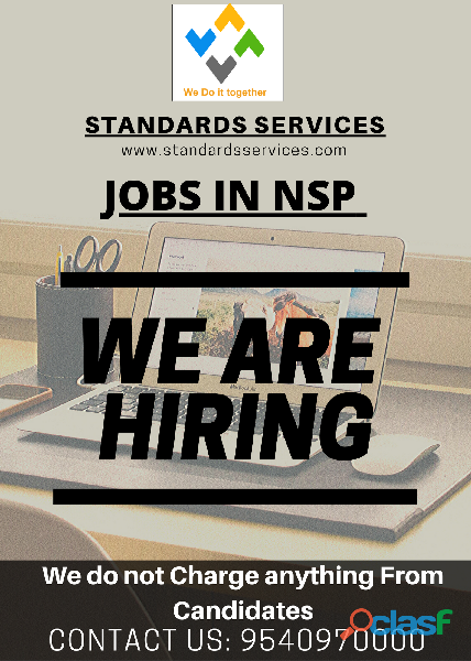 Jobs in nsp (standards services)