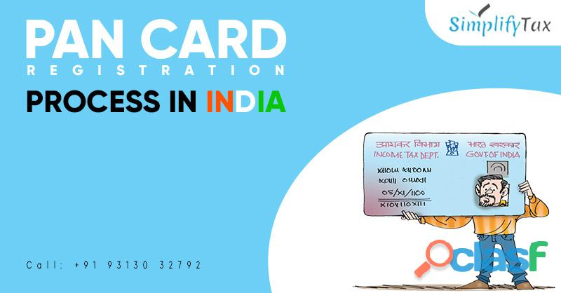 Pan card registration process in india | simplify tax