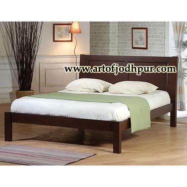 Jodhpur sheesham wood furniture double bed