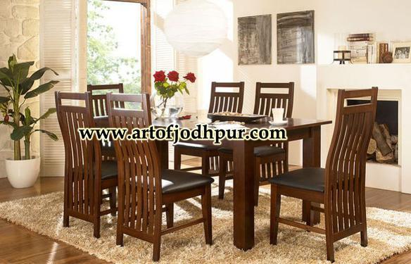 Online furniture sheesham wood dining set
