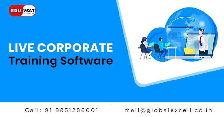 Live corporate training software eduvsat