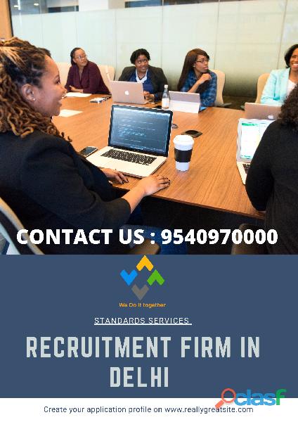 Recruitment firm in delhi