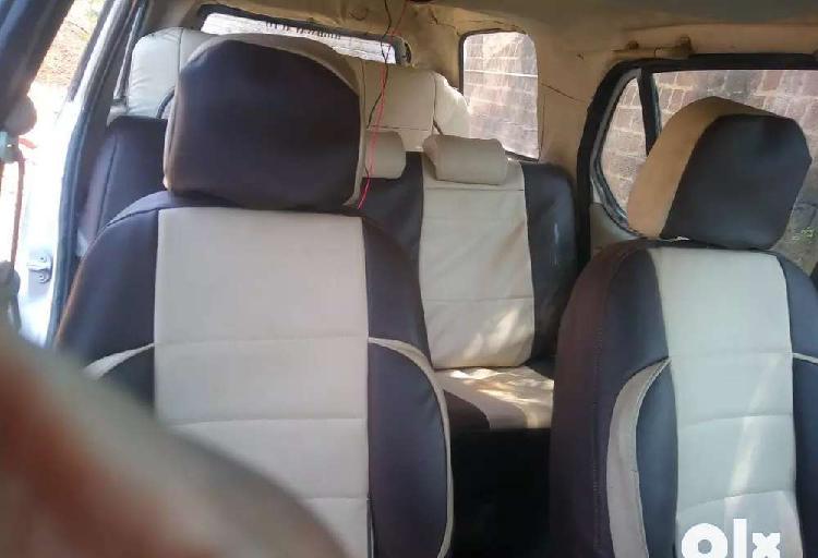 Indigo marina modified 3 seats in row.