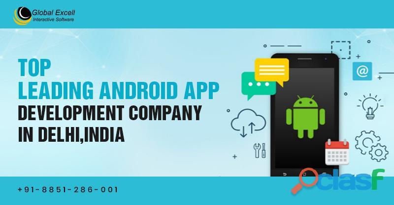 Top leading android app development company in delhi, india