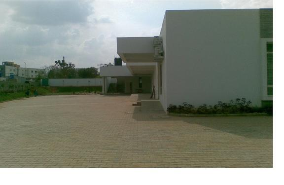 43000sft industrial land with 14000 rcc warehouse for rent
