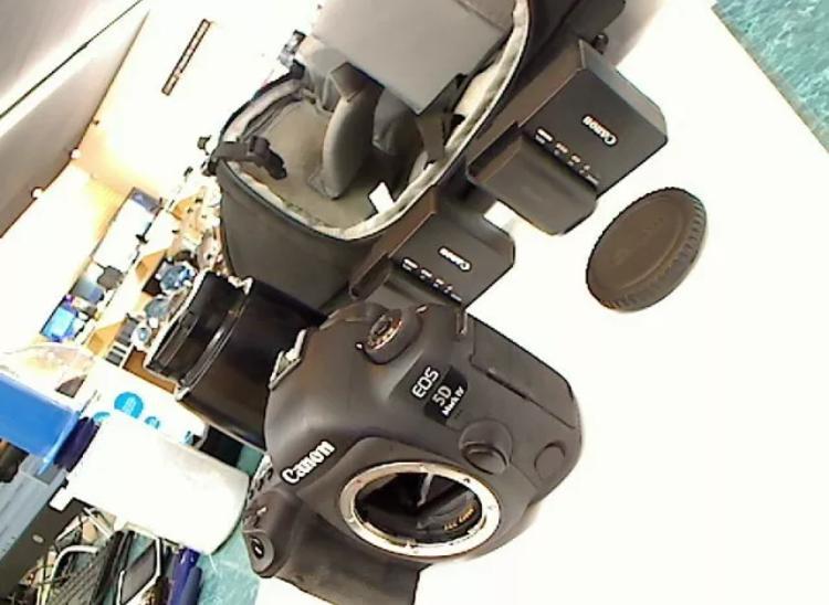 Canon eos 5d mark iv 304mp digital slr camera black kit
