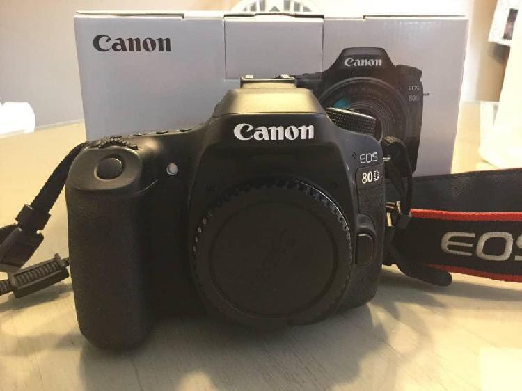 Canon eos 80d 242 mp digital slr camera black with efs y