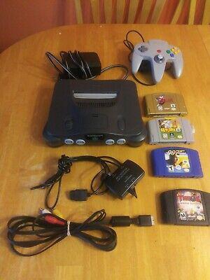 Nintendo 64 console lot video plus games