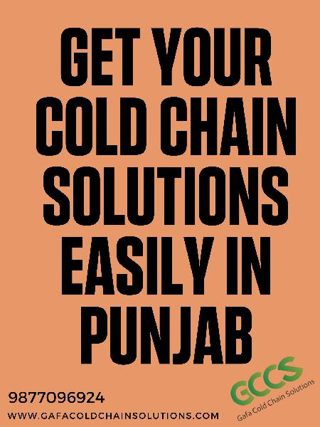 Get your cold chain solutions easily in india gafa cold