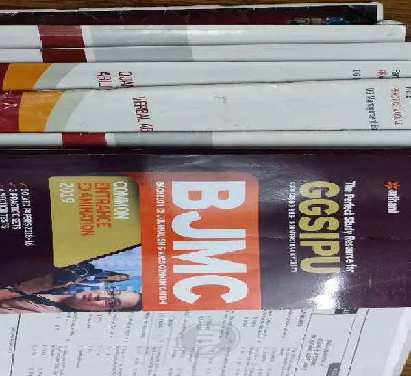 Study material for entrance exams ( bba, law , bjmc )