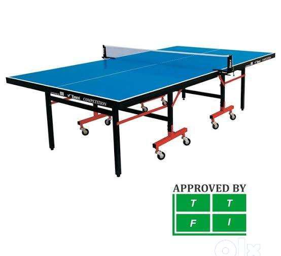 Table tennis table full size approved by ttfi
