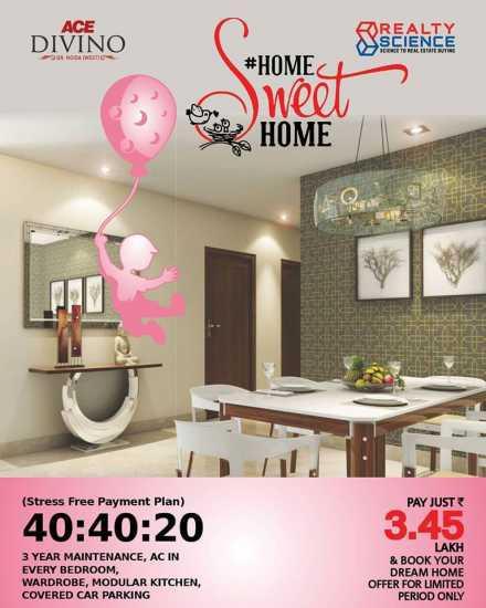 3 BHK Flats 8750488588 Ace Divino Noida Extension