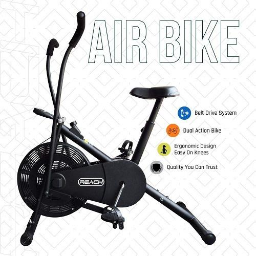 Best fitness excercise air bike for home gym india 2020